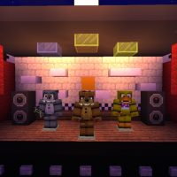 FNAF Texture Pack for Minecraft PE