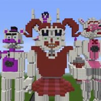 Sister Location Map for Minecraft PE