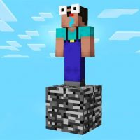 Survival on a Single Block Map for Minecraft PE