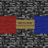 Red vs Blue Map for Minecraft PE
