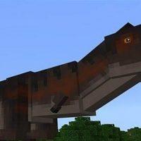 Dino mod for Minecraft PE