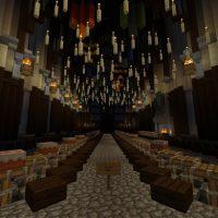 Hogwarts map for Minecraft PE