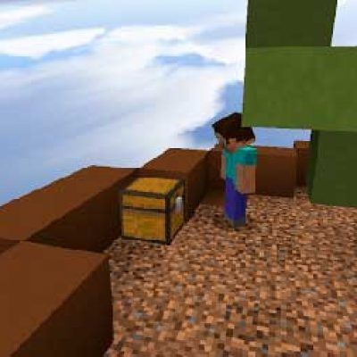 SkyWars map for Minecraft PE
