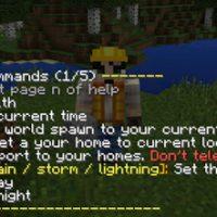 Commands Mod for Minecraft PE