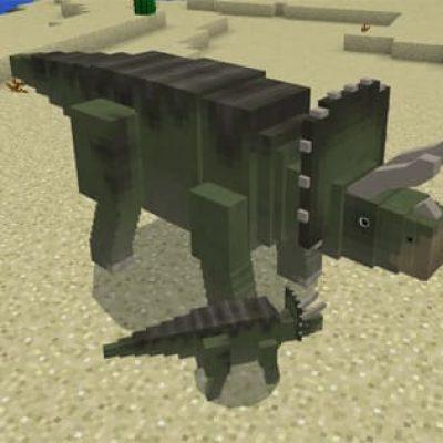 Jurassic Craft Mod for Minecraft PE