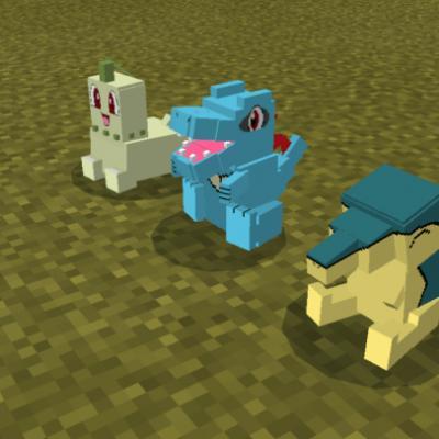 Pokemon Mod for Minecraft PE