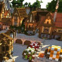 Village map for Minecraft PE