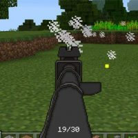 Gun mod for Minecraft PE