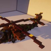 Helicopter mods for Minecraft PE