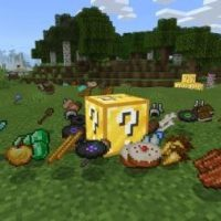 Lucky Block addons for Minecraft PE